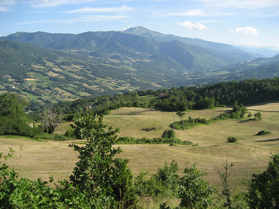The Mountains just south of Modena, Italy very beautifull countryside