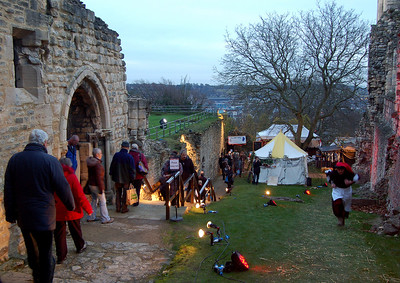 The Medieval Market in Bishop's Palace