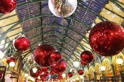 Christmas Covent Garden Baubles
