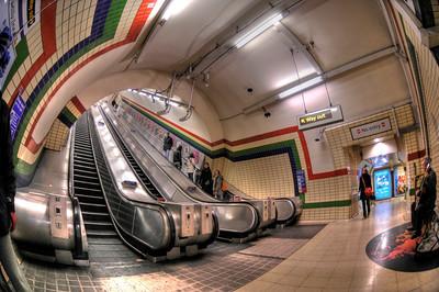 London Tube Station