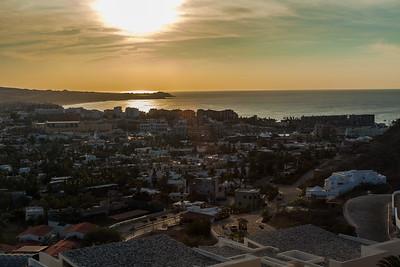 Sunrise from condo Cabo San Lucas;Los Cabos;Mejico;Mexico;