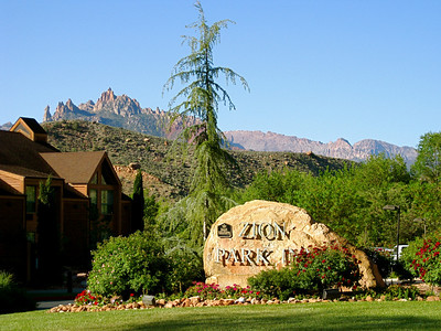 I stayed at a Best Western Zion Park Inn in Springdale.  They have shuttles running into the park that pick up right outside the hotel.