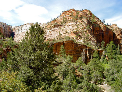 Between Zion and Bryce NPs