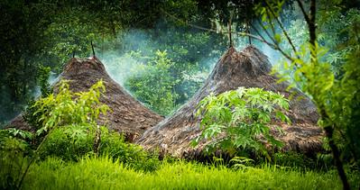 Kogi Huts & Smoke