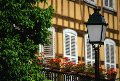 Street Lamp in Stasbourg