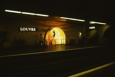 Louvre Metro Station