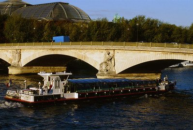 Tour Boat on the Seine