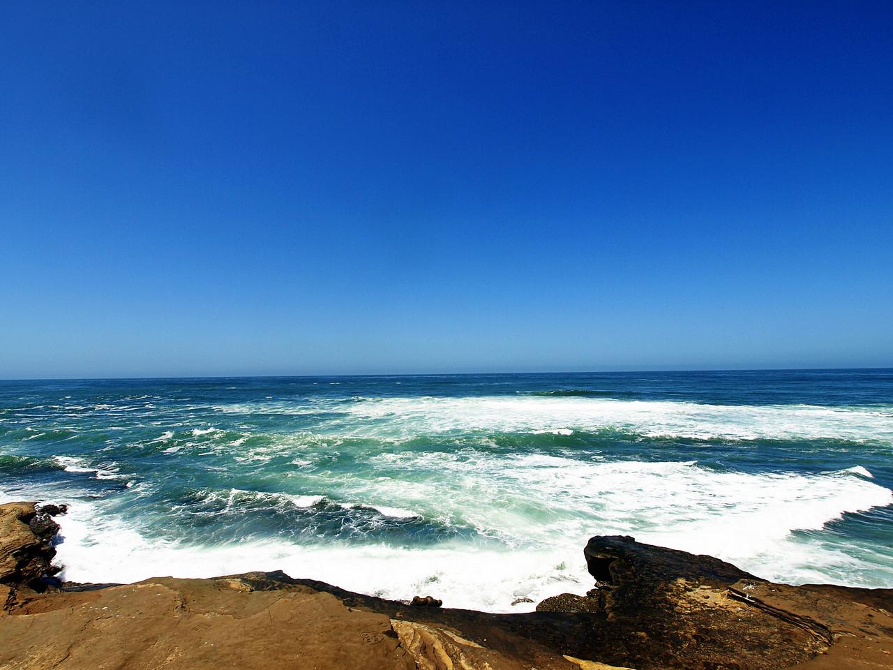 Pacific Ocean off the cliffs of La Jolla  Order Code: A24