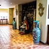 La Palma, Canary Islands<br /> Art collection inside Hacienda de Abajo