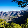 La Palma, Canary Islands<br /> Mirador de Cumbracita<br /> Looking towards La Caldera de Turbiente