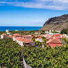 La Palma, Canary Islands<br /> Hacienda in banana plantation