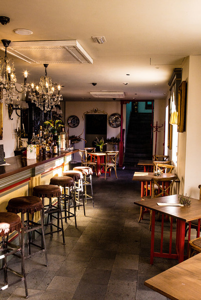 La Palma, Canary Islands<br /> Bar at Hacienda de Abajo