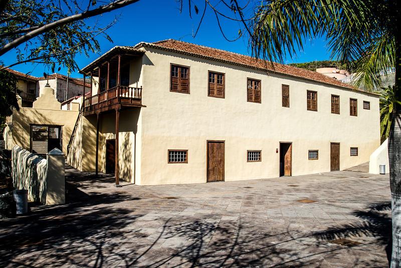 La Palma, Canary Islands<br /> Art Gallery near Hacienda de Abajo