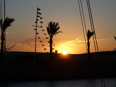 La Paz Costa Baja marina 7-05 stowing boat for 3 months
