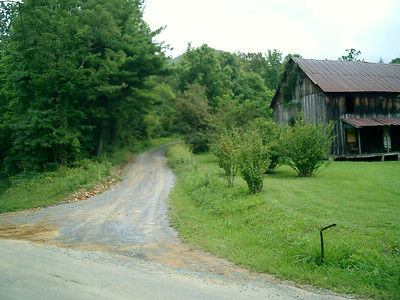 Labor Day 06, 1 day, 3 states, to find 1 gravel road !