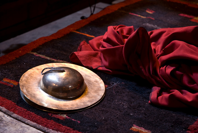 Robe and Cymbals<br /> Ladakh, India