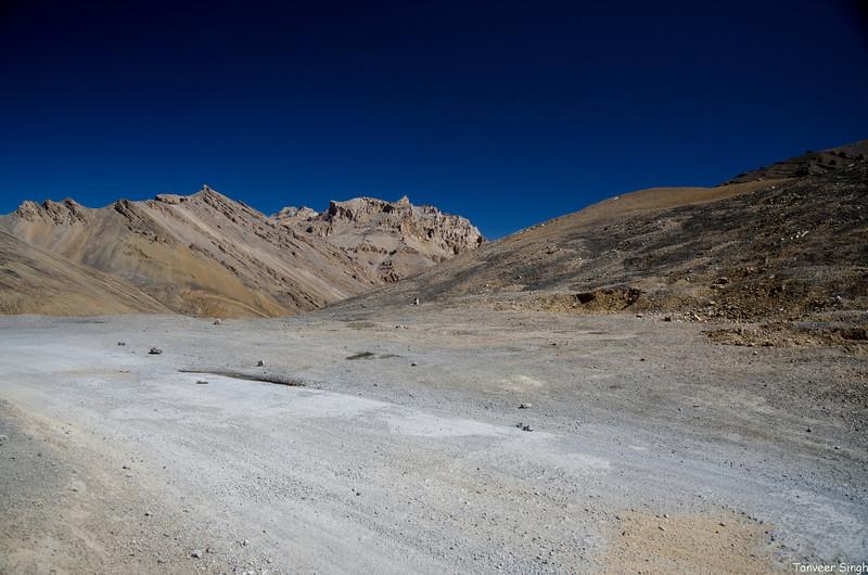 "Taken at Latitude/Longitude:33.103078/77.629720. 8.82 km East Takh Kashmir India <a href=""http://www.geonames.org/maps/google_33.103078_77.629720.html""> (Map link)</a>"