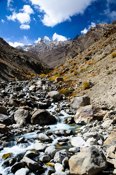 "Taken at Latitude/Longitude:33.372123/76.927182. 3.13 km South-East Burdun Gmpa Kashmir India <a href=""http://www.geonames.org/maps/google_33.372123_76.927182.html""> (Map link)</a>"