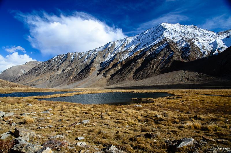 "Taken at Latitude/Longitude:34.045788/76.245578. 7.66 km West Zulidok Kashmir India <a href=""http://www.geonames.org/maps/google_34.045788_76.245578.html""> (Map link)</a>"