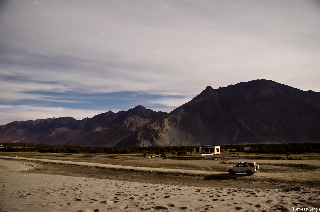 Nubra Valley : The duneland