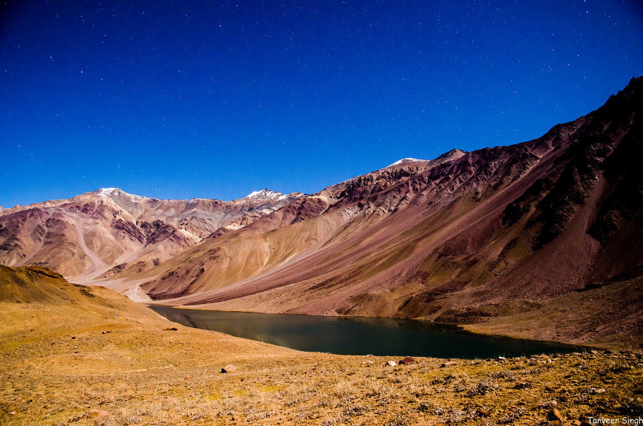 Chandertaal, the lake of the moon