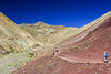 Hiking to the painted hills