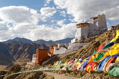Namgyal Tsemo Gompa (Monastery) and Fort, Leh