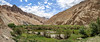 The wide & lush Markha Valley
