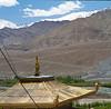 Monastery near Shanti Stupa