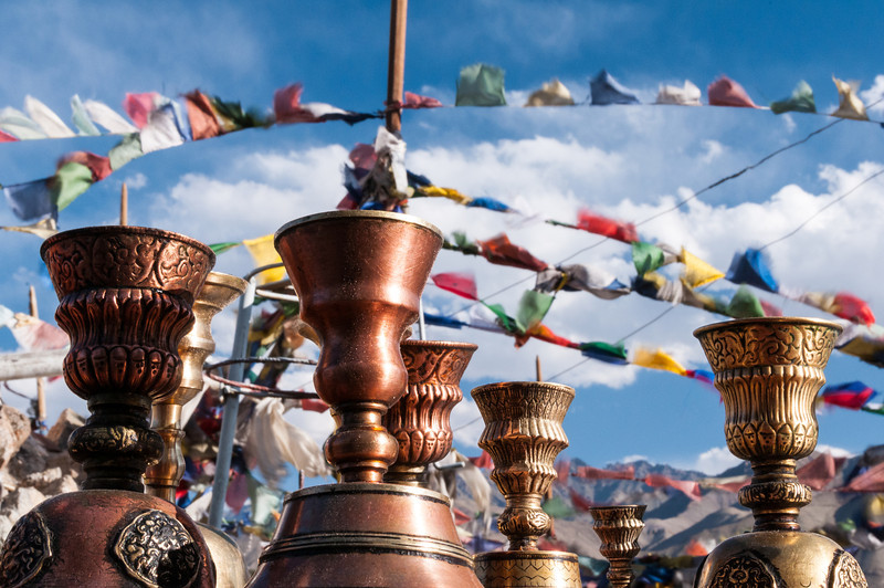 Polished in the sunshine. Spitok Gompa, Leh, Ladakh