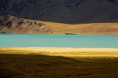 High Altitude Lake, Ladakh Himalaya, india