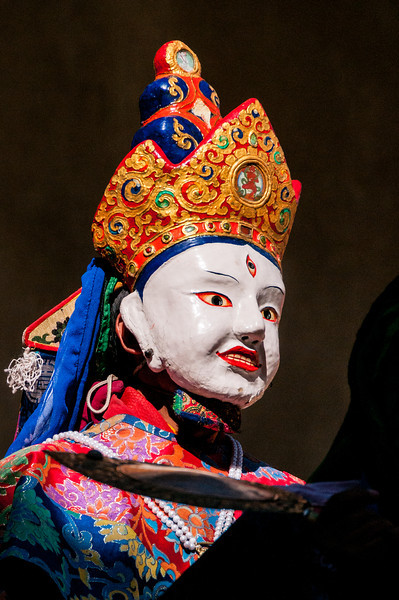 Tibetan Mythology is brought to life at Phyang Gompa's festival