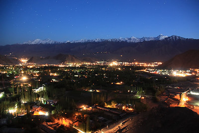 Leh At Night, ladakh India