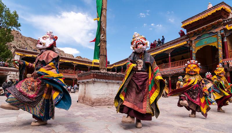 Tibetan Buddhist mythology brought to life at Hemmis Festival