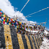 Khardung La. Billed as the worlds highest motorable pass at 6802m (though it actually measures 5350m!)