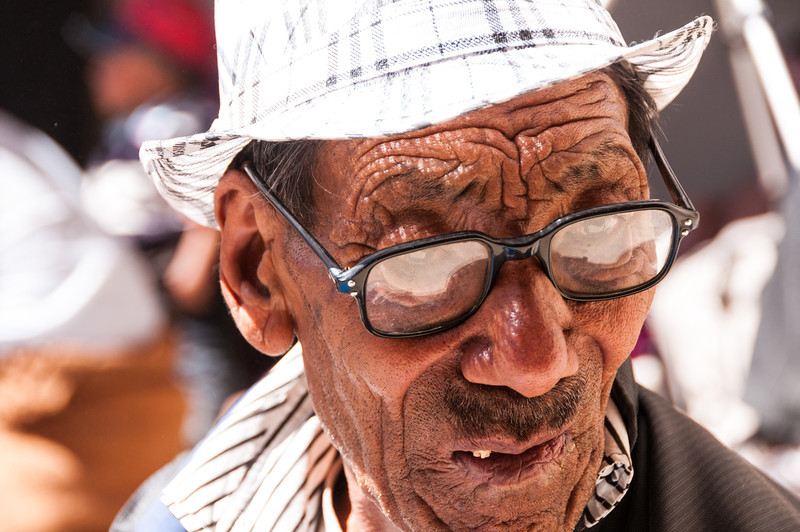 Is that a Burberry Trilby hat? Phyang Gompa Festival, Ladakh