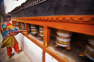 Prayer Wheels Ladakh India