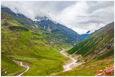 Scenic Drive from Manali to Jispa