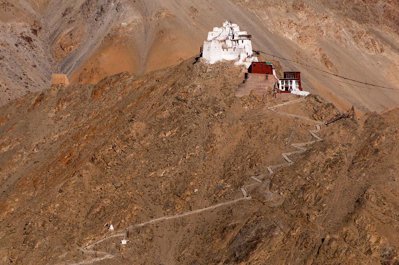 Its a long walk to Namgyal Tsemo (Leh fort)