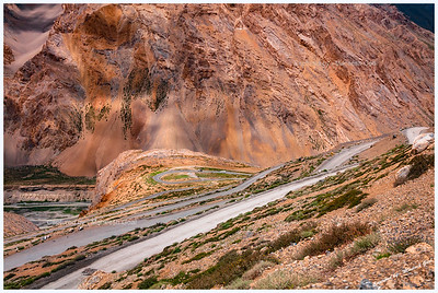 Gata Loops (Along Manali-Leh Highway)