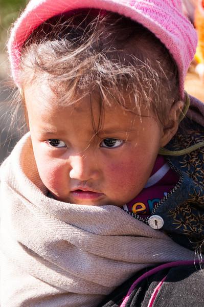 Inquisitive eyes. Stongdey Gompa, Zanskar