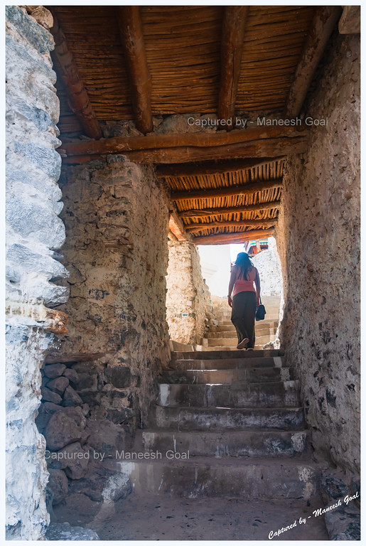Exploring the Passages of Diskit Monastery