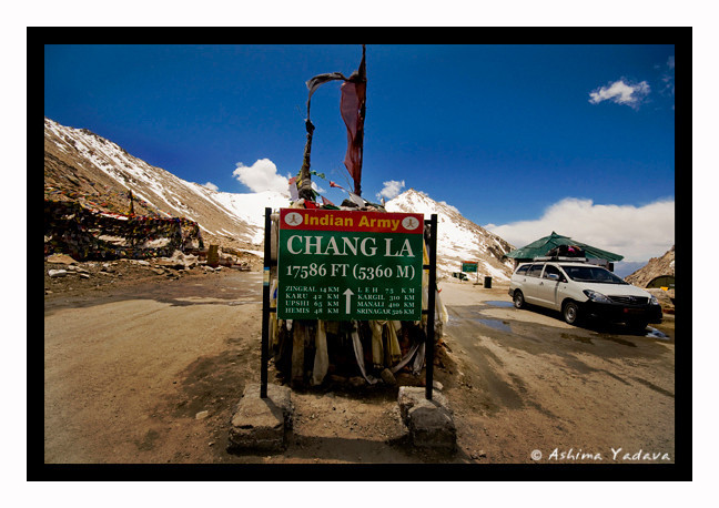"""Soaring""<br /> <br /> Chang La, Ladakh."