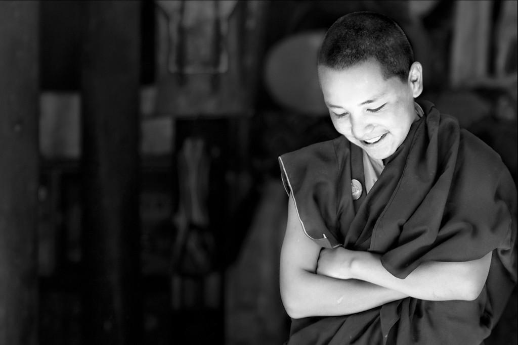 """Smiling Lama""<br /> <br /> Hemis Monastery, Ladakh."