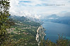 Lago di Garda - view from Montecastello