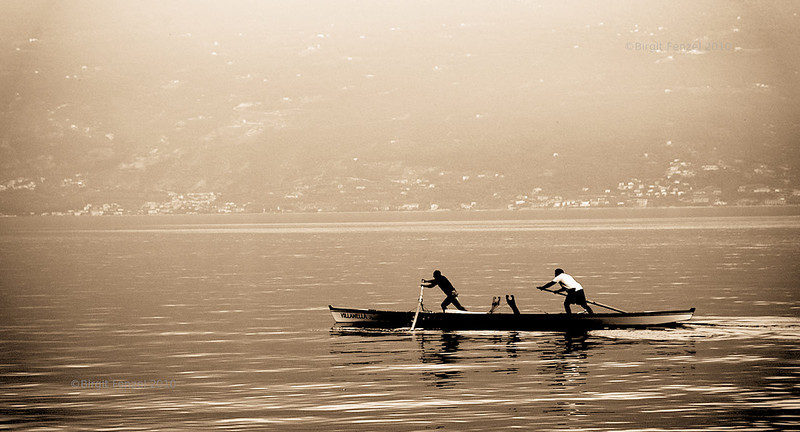 Rowing (shot by Birgit)