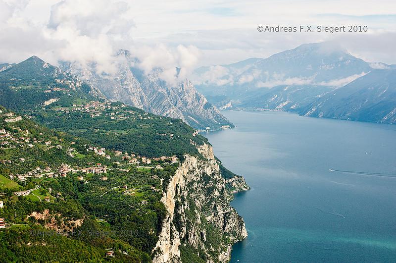 Lago di Garda - view from Montecastello