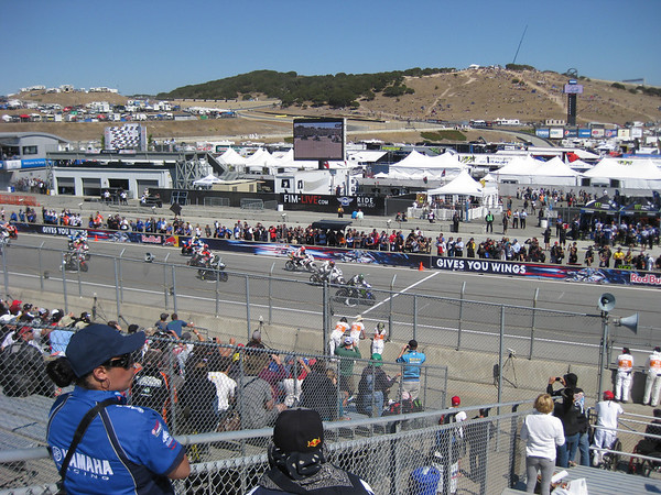 Laguna Seca MotoGP 2012