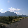 In the Big Bend N.P., looking east toward the Chisos Basin.