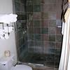 Our bathroom at the Lajitas resort.